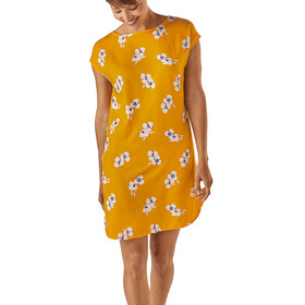 Patagonia W's June Lake Dress Women Mariposa Lily: Rugby Yellow